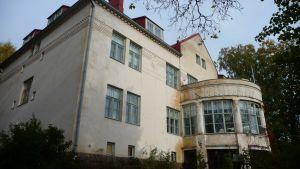 södra fasaden på söderkulla gård