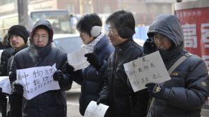 Kinesiska arbetslösa