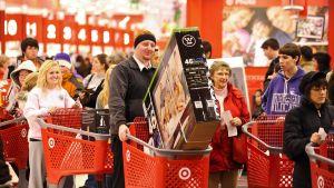 Många verkade nöjda med julhandeln