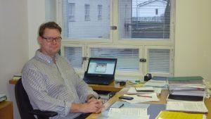 Jan Gröndahl är teknisk direktör i raseborg
