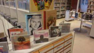Musikavdelningen vid ekenäs bibliotek