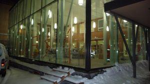 Nya matsalen i Vasa gymnasiecampus.
