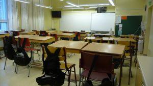 Klassrum i Korsnäs skola