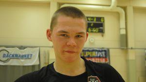 Zacharias Ekström gjorde tre mål för ESC.