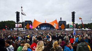 Publik på Roskildefestivalen i fjol.