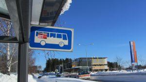 Busshållplats i Söderkulla