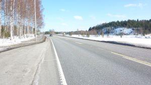 Riksväg 25 vid Karis