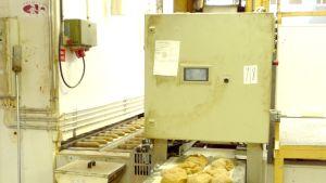 På Primula har man hittat på flera sätt att kompensera för den miljöpåverkan brödproduktionen har. Bild: YLE/Smältpunkt/Mona Sandell