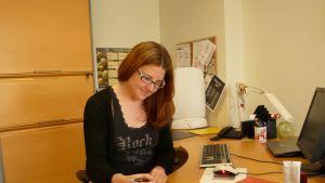 Linda Hongisto arbetar som näringsterapeut