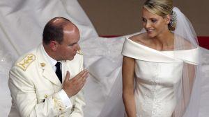 kungligt bröllop i monaco