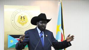 Sydsudans president Salva Kiir