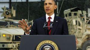 Obama talade till det amerikanska folket från Afghanistan
