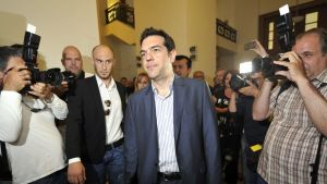 Syrizas ledare Alexis Tsipras