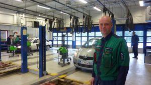 Besiktningsman Andreas Åsvik