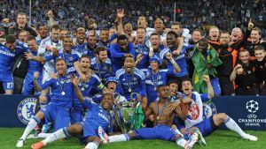 Chelsea vann Champions League 2012