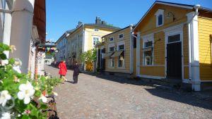 mellangatan i gamla stan i borgå