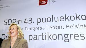 Urpilainen vid SDP:s partikongress