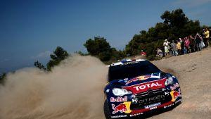 Sebastien Loeb vann det grekiska VM-rallyt