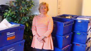 chefen för socialtjänster i borgå maria andersson