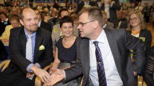 Tuomo Puumala och Juha Sipilä
