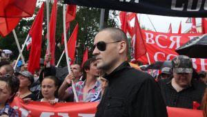Vänsteraktivisten Sergej Udaltsov