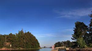 Sommaröarna i Esbo.