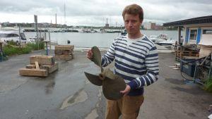 Båtförsäljare Robin Carlson.