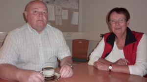 Birger Blomqvist och Lena Selén.