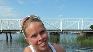 Anne Rikala från Ekenäs deltar i sommar-OS.