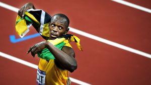 Usain Bolt firade sin framgång - guldet på 200 m i London OS
