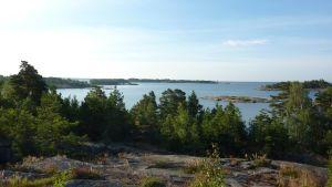 Utsikt från Rävberget i Kopparnäs.