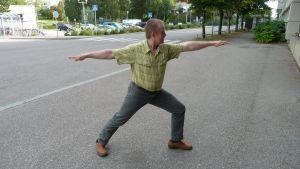Yogainstruktör Bengt Holmström