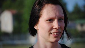 Höjdhopparen Linda Sandblom, Hangö IK: