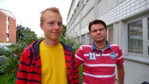 Niklas Haapalainen och Jonas Tuominen