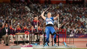 Marjatta Huovinen, Paralympics 2012