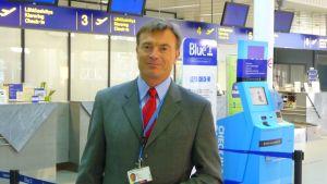Mikko Komi, vd för Vasa flygplats