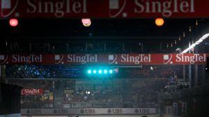 Singapore Grand Prixt avgörs kvällstid.