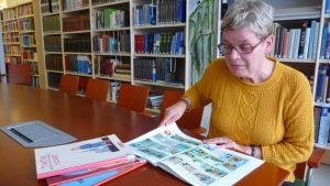 Ulla Sweins-Haustein är bibliotekschef i Korsholm.