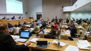 Fullmäktigemöte i Helsingfors