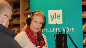 Nora Engström ledde kommunalvalsdebatten från Pargas