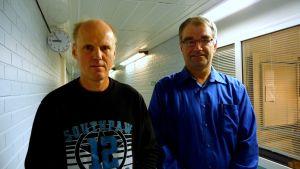 Robert Friman, SDP, och Kenneth Pärus, SFP