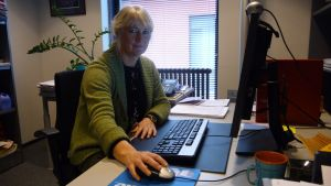 Vänsterförbundets Nina Söderlund.