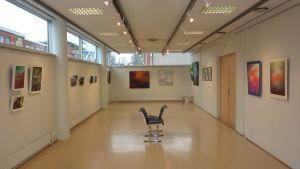 utställningen From me to you på Galleri Fokus i Karis