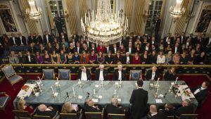 Svenska Akademien sammanträdde i Stockholm i december 2011.
