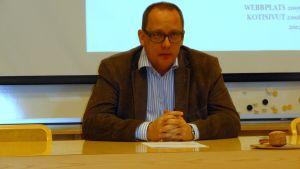 Vasas stadsdirektör Tomas Häyry