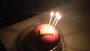 Min morgon födelsedagskaka