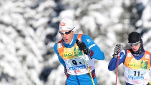 Alexei Poltaranin snabbast i La Clusaz.