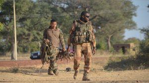Franska soldater i Markala söder om Diabaly. Frankrike deltar med drygt 2 500 man i offensiven för att befria norra Mali.