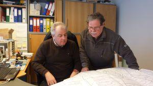 Kjell Holm och Ralf Wickström