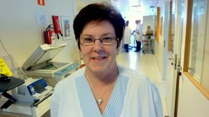 Avdelningsskötare Rose-Marie Swanljung